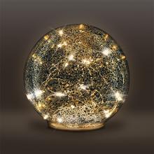 1V230 LED sklenená vianočná dekorácia