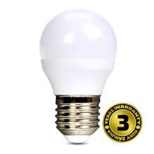 WZ419 LED žiarovka miniglobe, 6W, E27, 6000K