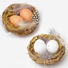 Hniezdo s vajíčkami 8cm