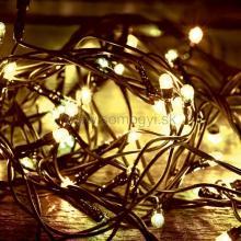LED svetelný reťazec, 100 teplých bielych LED, 8pr., na vonkajšie použitie LED 108C/WW