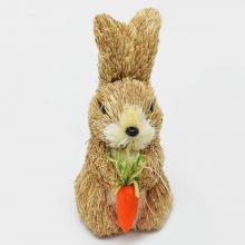 Zajac s mrkvou slama